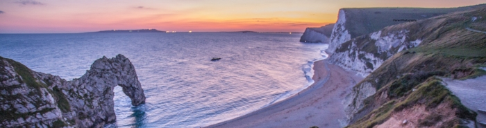 Header sunset durdle door 2 From LEP
